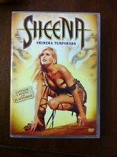SHEENA - SERIE TV - TEMPORADA 1 COMPLETA - 4 DVD CON 22 EPISODIOS - 880 MIN