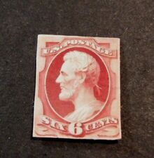 Us Proofs Stamp Scott# 224P2 Lincoln 1869 Mh L190