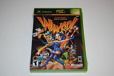Whacked! Microsoft Xbox Video Game New Sealed