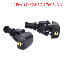 2X Windshield Water Washer Sprayer Nozzle For F150 Expedition 3W7Z-17603 IYMA