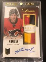 2013-14 Anthology SEAN MONAHAN Rookie Selection Dual Patch Auto /50 Autograph RC