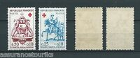 CROIX ROUGE - 1960 YT 1278 à 1279 - TIMBRES NEUFS** LUXE