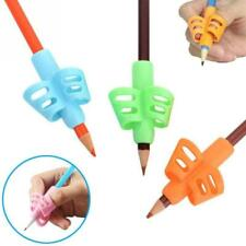 Two Finger Grip Silicone Pencil Holder Corrector Baby Kids Learning Writing Tool