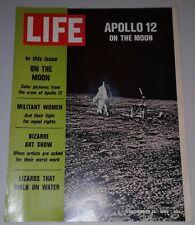 Life Magazine December 12 1969 Apollo 12 On The Moon - Good Condition