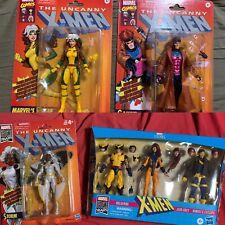 X-Men Retro Marvel Legends Action Figures NEW Rogue Jean Grey Wolverine Gambit