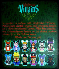 """DISNEY VINYLMATION 3"""" VILLAINS 2 SEALED BLIND BOX CHASER? 2011 TOY COLLECTIBLE"""