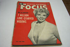 Focus Cheesecake Magazine Feb 1954 Pat Yan  072812EL