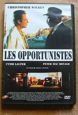 DVD LES OPPORTUNISTES - Christopher WALKEN / Cyndi LAUPER / Peter MAC DONALD
