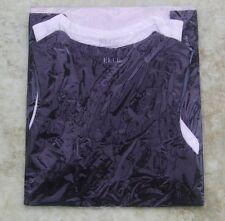 Elle Womens 2 Pack Black & White Basic Vest Tops One Size S / M 8-10 Brand New