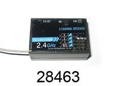 28463 RICEVENTE  2.4GHz 3 CANALI + 1 BATTERIA  3 CHANNELS RECEIVER HIMOTO