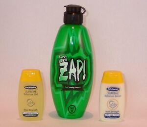 Power Tan Zap Fresh Apple Sunbed Tanning Lotion