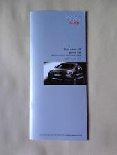 AUDI Q7 PRICE LIST BROCHURE NOVEMBER 2005 (BUT 2007 MODEL YEAR)