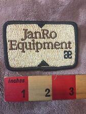 JANRO EQUIPMENT Advertising / Uniform Patch C757