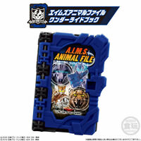 NEW Kamen Rider Saber SG01 Wonder Ride Book A.I.M.S. Animal File from Japan