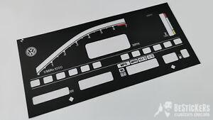 MILES MPH FACELIFT vw Digifiz 7000 rpm 8v g60 golf rallye cover foil uk usa dgt