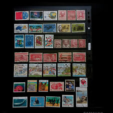 AUSTRALIA  (7)  Early to Modern – Used  Commemorative Stamps Collection  F060
