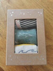 Boys / unisex White Stuff Socks Size S (1-3) Box Set New