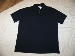 Men's Sun River Black Polo Shirt - XL - New with Tags