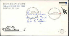 Netherlands 1982 Royal Dutch Skating Association FDC First Day Cover #C27762