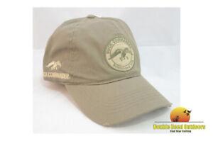 "Duck Commander Chocolate Circular Logo Hat ""Arise, Kill, Eat"" hook-and-loop Adju"