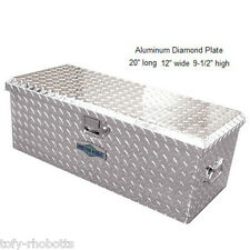 Truck Pickup ATV Tool Box Storage, Aluminum Plate, For Equipment Vehicle Travel