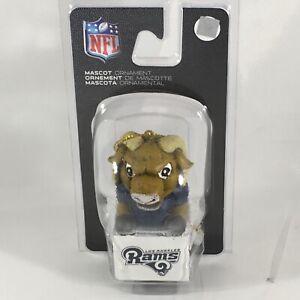 Los Angeles Rams Mascot Ornament NFL Football Team Sports America