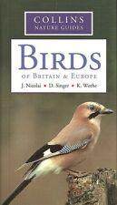 NICOLAI BOOK COLLINS NATURE GUIDE BIRDS OF BRITAIN & EUROPE paperback BARGAIN