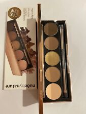 Nude by Nature - 'Natural Illusion' eyeshadow Palette New & Boxed