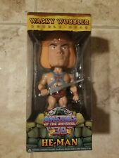 He-Man Funko Wacky Wobbler Masters of the Universe 30th Anniversary MIB NEW MOTU