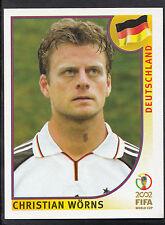 Panini Football - World Cup 2002 - Sticker No 319 - Germany - Christian Worns