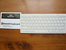 Wireless Bluetooth Keyboard, Ultra Slim Keyboard for iPad/iPod & iPhone