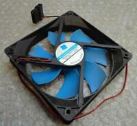 Original Genuine Brushless BDH12025S 120mm 3-Pin Blue Case Cooling Fan