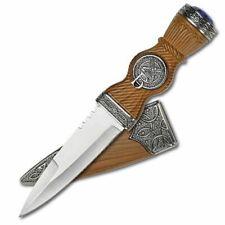 Scottish Gaelic Sgian Dubh Dirk Dagger Decorative Collectible Knife