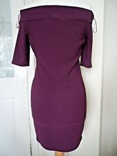 BNWT River Island  Bardot Style Bodycon Dress Size 12 Cocktail /Party