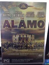 THE ALAMO - JOHN WAYNE / RICHARD WIDMARK - PAL R4 - NEW & SEALED