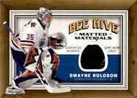 2006-07 Matted Materials Dwayne Roloson Jersey 1 Color #MM-DR