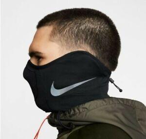 Nike Unisex STRIKE Snood Running Neck Warmer Black Face Mask Scarf BQ5832-010