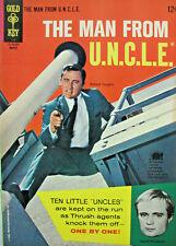 The Man From U.N.C.L.E #5 Gold Key Comic Silver Age 1966 VF/NM