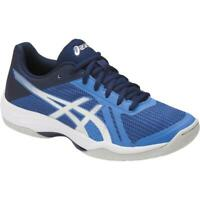 ASICS Woman GEL TACTIC Scarpe Donna VOLLEY BLUE SILVER B752N 4093