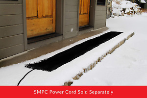 Summerstep Home Wm12X120-Res Residential Snow Melting Heated Walkway Mat, Anti-S