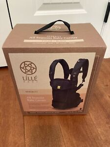 LILLEbaby Serenity All Season 6-in-1 Baby Carrier, Black