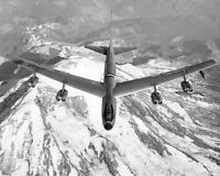 BOEING XB-52 / B-52 STRATOFORTRESS FLIGHT 8x10 SILVER HALIDE PHOTO PRINT