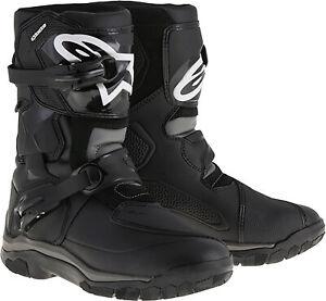 Alpinestars Belize Drystar Boots Black Sz 9 2047117-10-9 3410-1738 482-46109