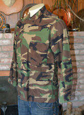 PRESTIGE TACTICAL CAMOUFLAGE LONG SLEEVE SHIRT JACKET PREPPER MILITARY SZ L