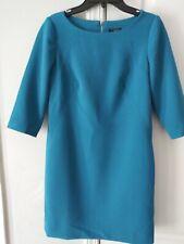 Ann Taylor Sz 0 Turquoise Half Sleeve Sheath Dress