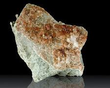 """4.4"""" Orange GROSSULAR GARNET var. Hessonite Crystals to.3""""Eden Mills VT for sale"""