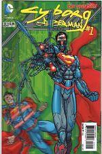 Action Comics V2 #23.1, Cyborg Superman #1, 3D Lenticular cover, 2013, New 52