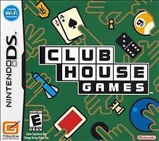 Nintendo DS Club House Games (2005) CIB complete in box tested works ships fast