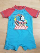 Thomas The Thank Boys Toddler UV Sun Swimsuit Size 2-3 Years