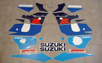 GSXR 750 SRAD 1998 full replacement decals stickers graphics set restoration '98